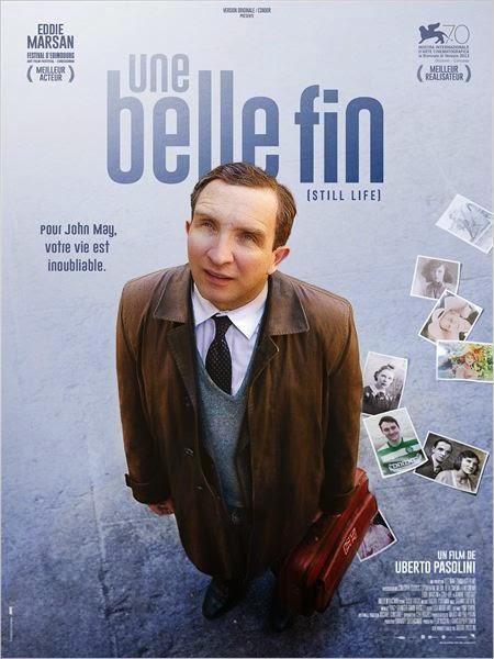 Affiche du film Une Belle Fin, de Uberto Pasolini (2015)