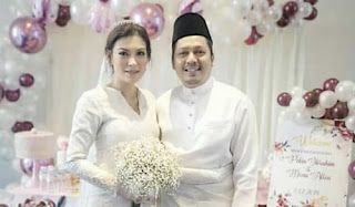 Perkahwinan Artis Malaysia 2018, Penceraian Dan Perkahwinan Artis Malaysia 2018, Pernikahan Artis Malaysia, Selebriti Malaysia, Penyanyi, Pelakon, Pekin Ibrahim Kahwin, Perkahwinan Pekin Ibrahim dan Mona Allen,