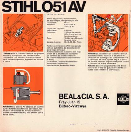 Stihl 051 Av manual