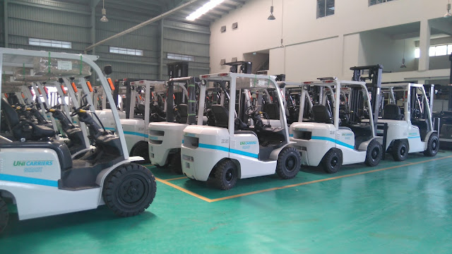 xe nang hang Nissan Unicarriers