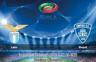Prediksi Lazio Vs Empoli 8 Februari 2019