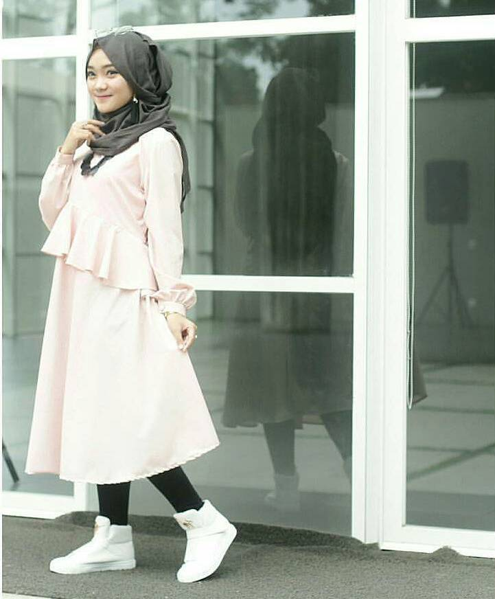 Fashion Hijab Remaja Terbaru 2018 Gaya Masa Kini Teman Cantik