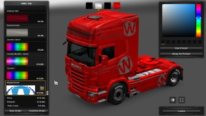 Wigglesworth Skin for Scania RJL