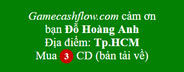 3 CD game cashflow 101 và 202