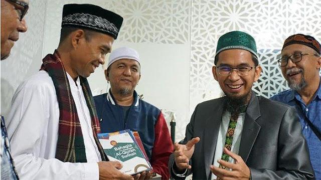 Berapa Suara Diraup Prabowo Setelah Ada Pernyataan Ustaz Abdul Somad?