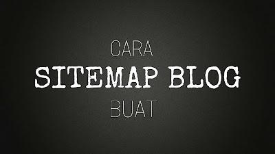 memasang widget sitemap blog
