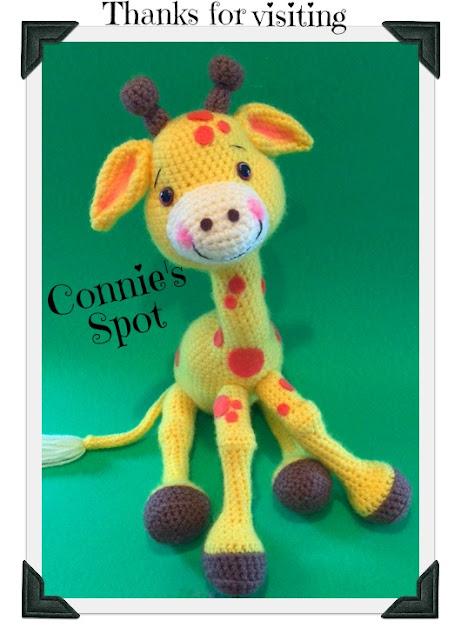 Connies Spot Crocheting Crafting Creating Free Baby Giraffe