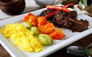 rendang bebek - kreasi chef indonesia