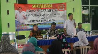 Dorong Nasionalisme, Kuswiyanto Sosialisasi Empat Pilar MPR