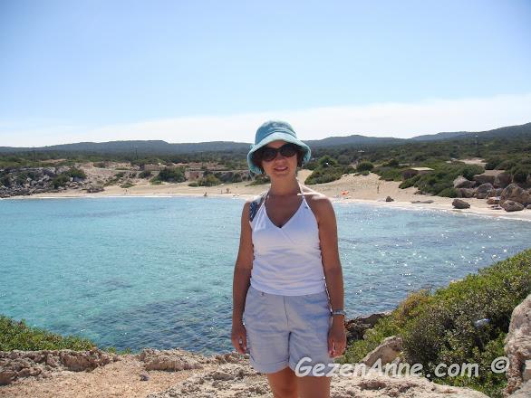 Karpaz sahillerinde dolaşırken, Kuzey Kıbrıs