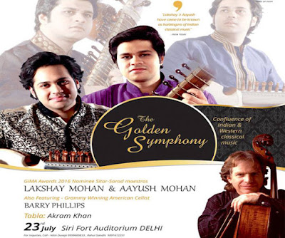 Instamag-Golden Symphony tour to debut in India in July