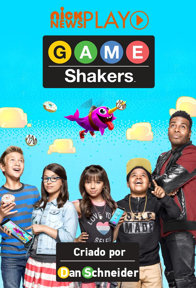 Game Shakers Pôster (FOTO: Reprodução/Nick News)