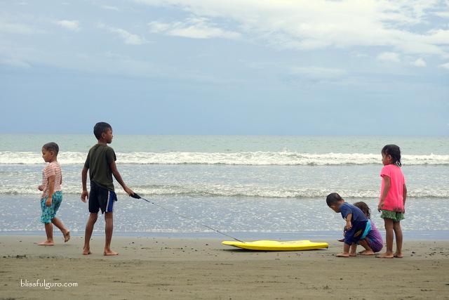 Sabang Beach Baler Surfing