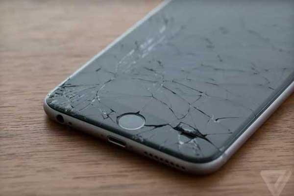 Màn hình iphone 6s plus bị vỡ
