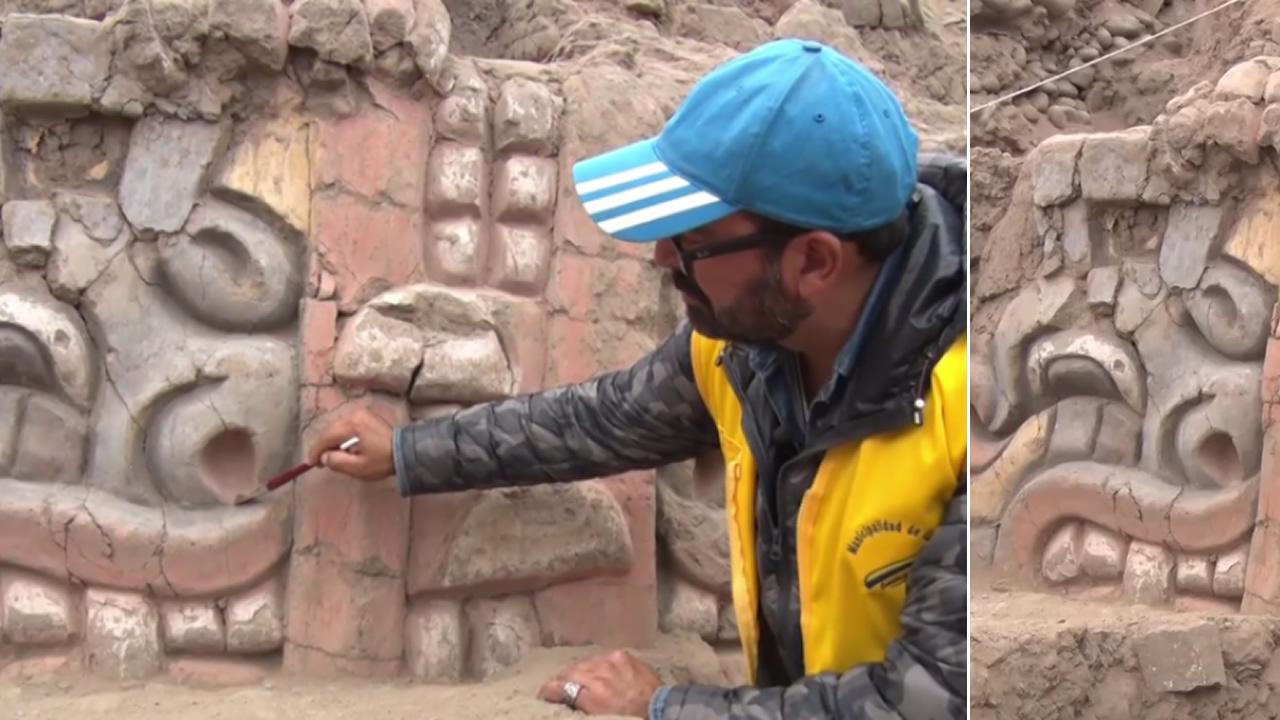 Desentierran restos de 3.500 años de antigüedad en santuario prehispánico de Perú