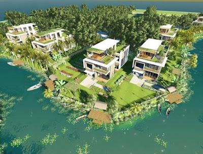 Đất nền ven sông - Phú Mỹ Hưng 2 - cách chợ   Bình Chánh 2km - 0902 501 235