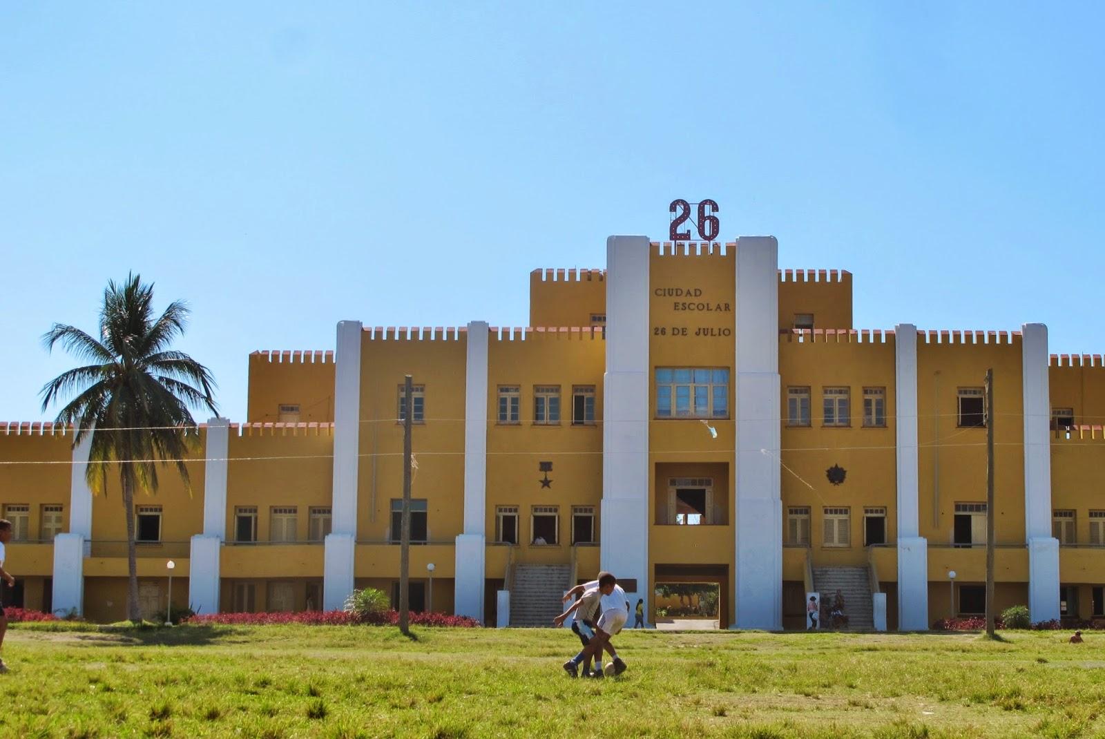 Quartel Moncada, em Santiago de Cuba.