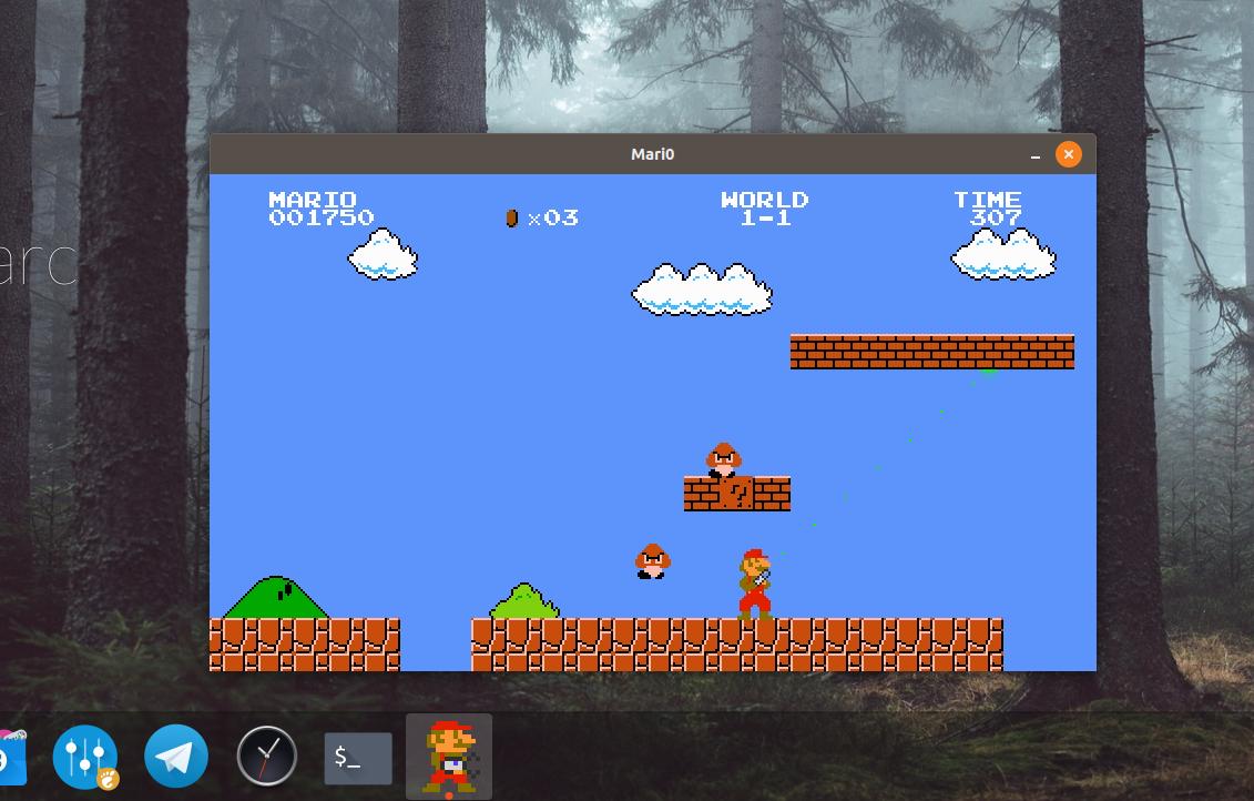 Prescott Linux » Snap Install Mario Platformer on Ubuntu 18 10