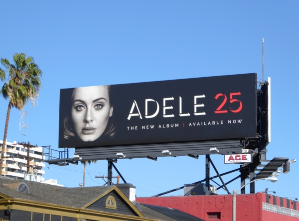 Adele 25 music album billboard