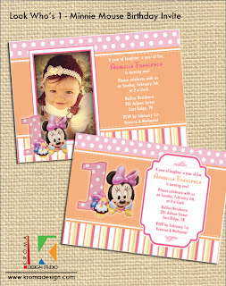 Look Who S 1 Minnie Mouse Birthday Party Collection