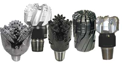 Drilling bits TYPES, DESIGN, SIZES, DULL GRADING, RUNNING, PARAMETERS