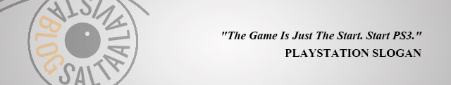 PlayStation Slogan The Game Is Just The Start