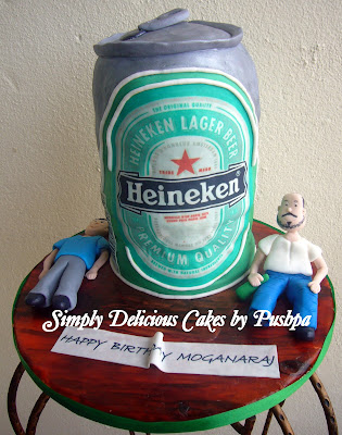 beer can cake simply delicious cakes heineken can cake 1633