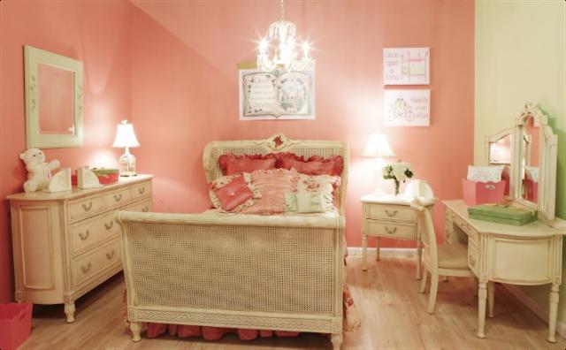 dormitorio vintage niña
