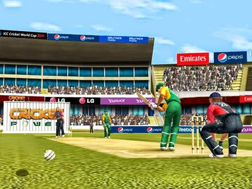 cricket game world cup 2011 free  for pc