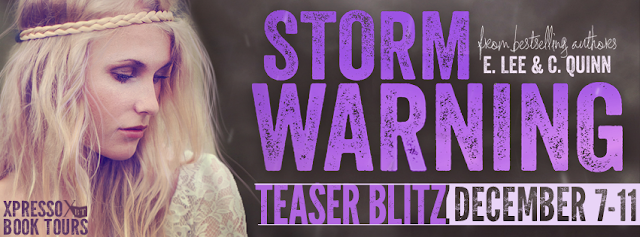 Storm Warning by E. Lee & C. Quinn Teaser