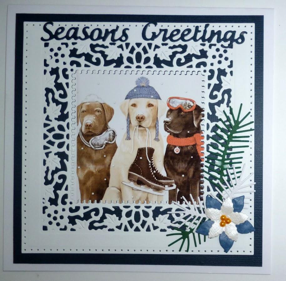 Laurels Crafty Retreat: More christmas cards