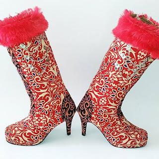 jual-sepatu-boots-batik