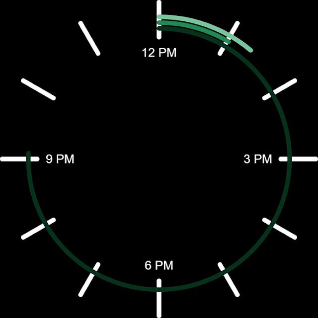 Circle Clock Wallpaper Engine