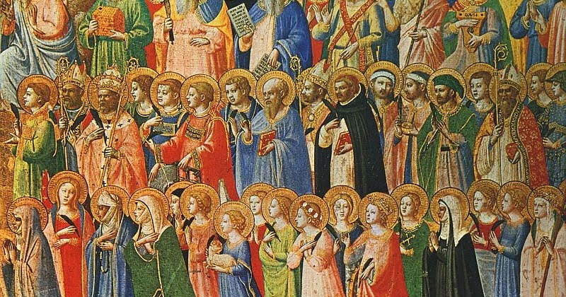 Desideria  TODOS LOS SANTOS de Fra Angelico 3461489e44b