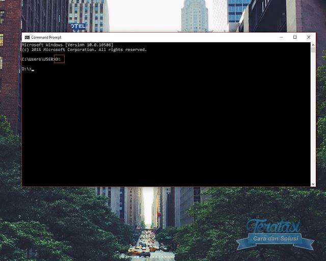 Akses Directory File Yang Ingin Disembunyikan Melalui Cmd - Cara Menyembunyikan File ke Dalam File Gambar dengan Teknik Steganografi - Teratasi.com