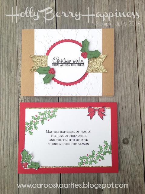 Stampin' Up! producten zijn verkrijgbaar via Caro's Kaartjes; www.carooskaartjes.blogspot.com