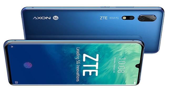 ZTE Axon 10 5G; ZTE Axon 10