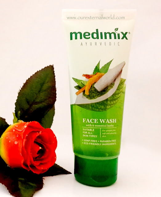 Medimix Ayurvedic Face Wash - With 6 Essential Herbs