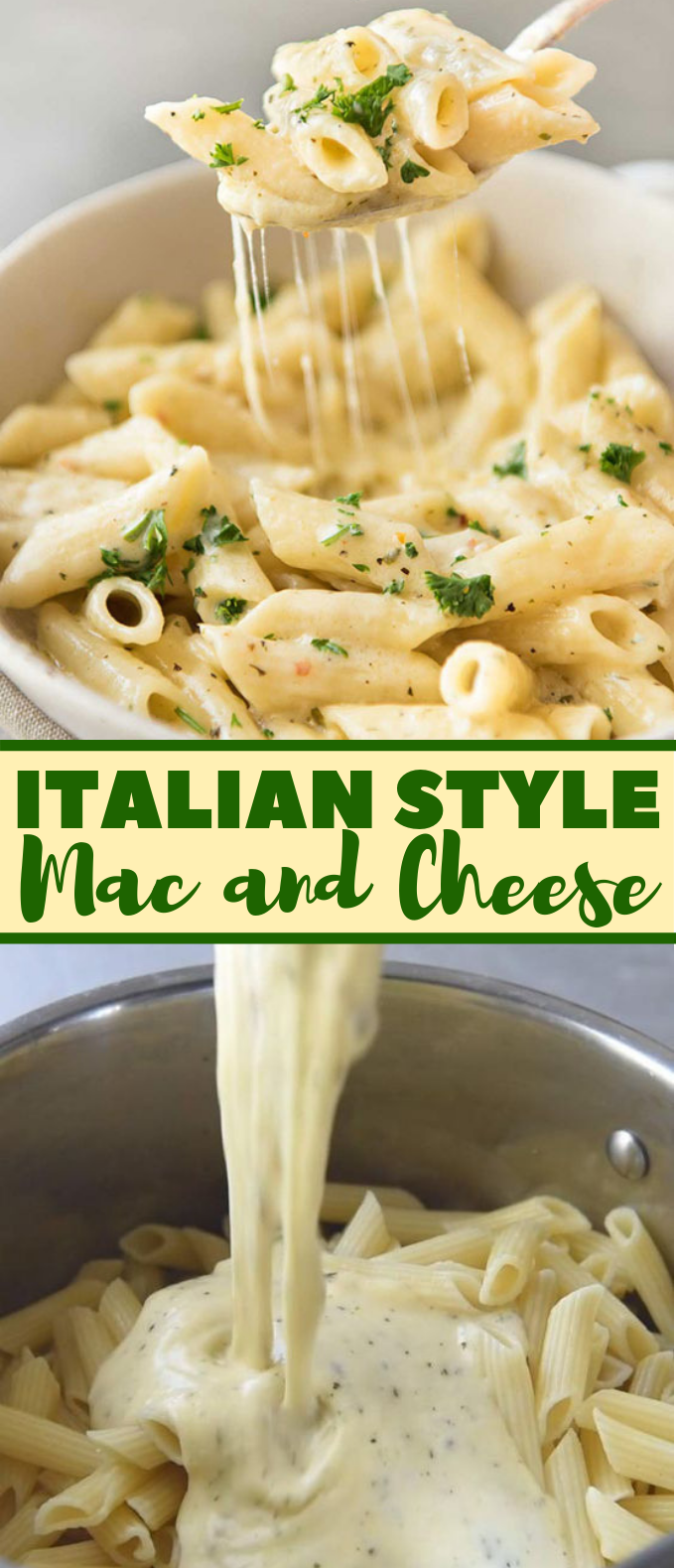 Super Simple Mac and Cheese Italian Style #dinner #pasta