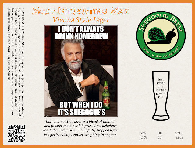 Most Interesting Man Label