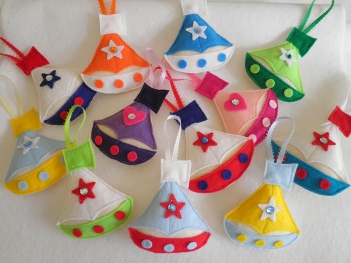 Поделки из Фетра / Felt Crafts Toys. DIY ideas for home decor