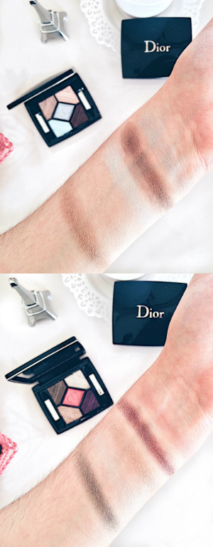 dior makeup eyeshadow swatches