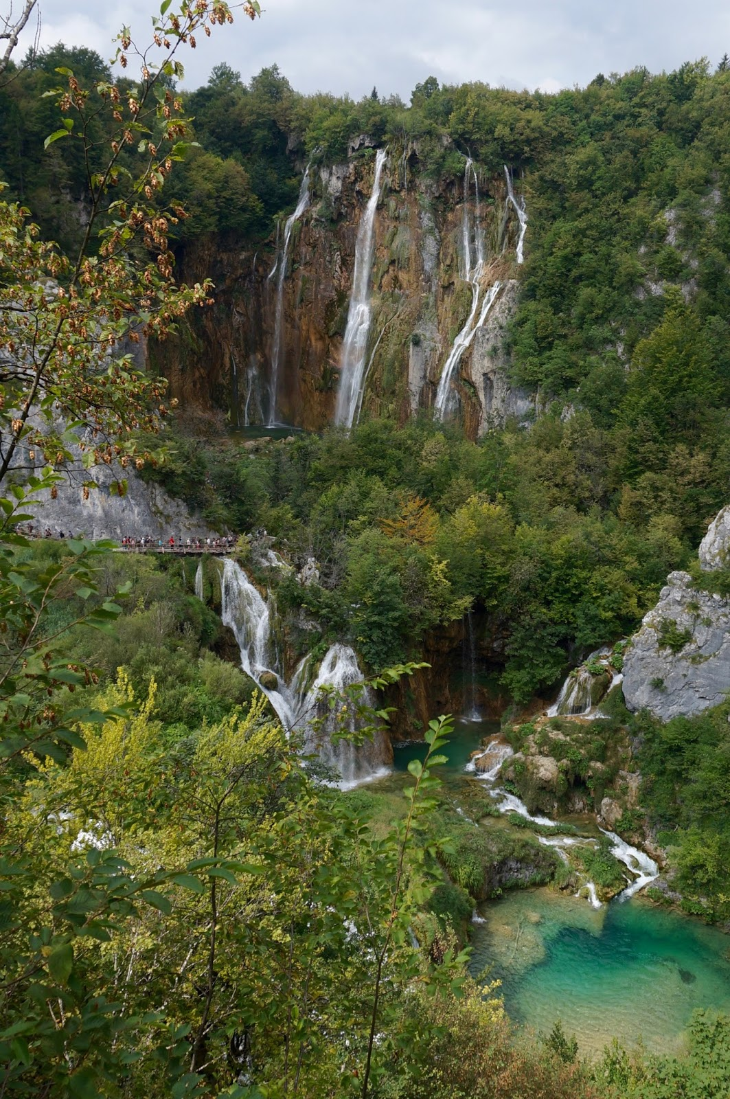 WATERFALLS PLITVICE LAKES, CROATIA