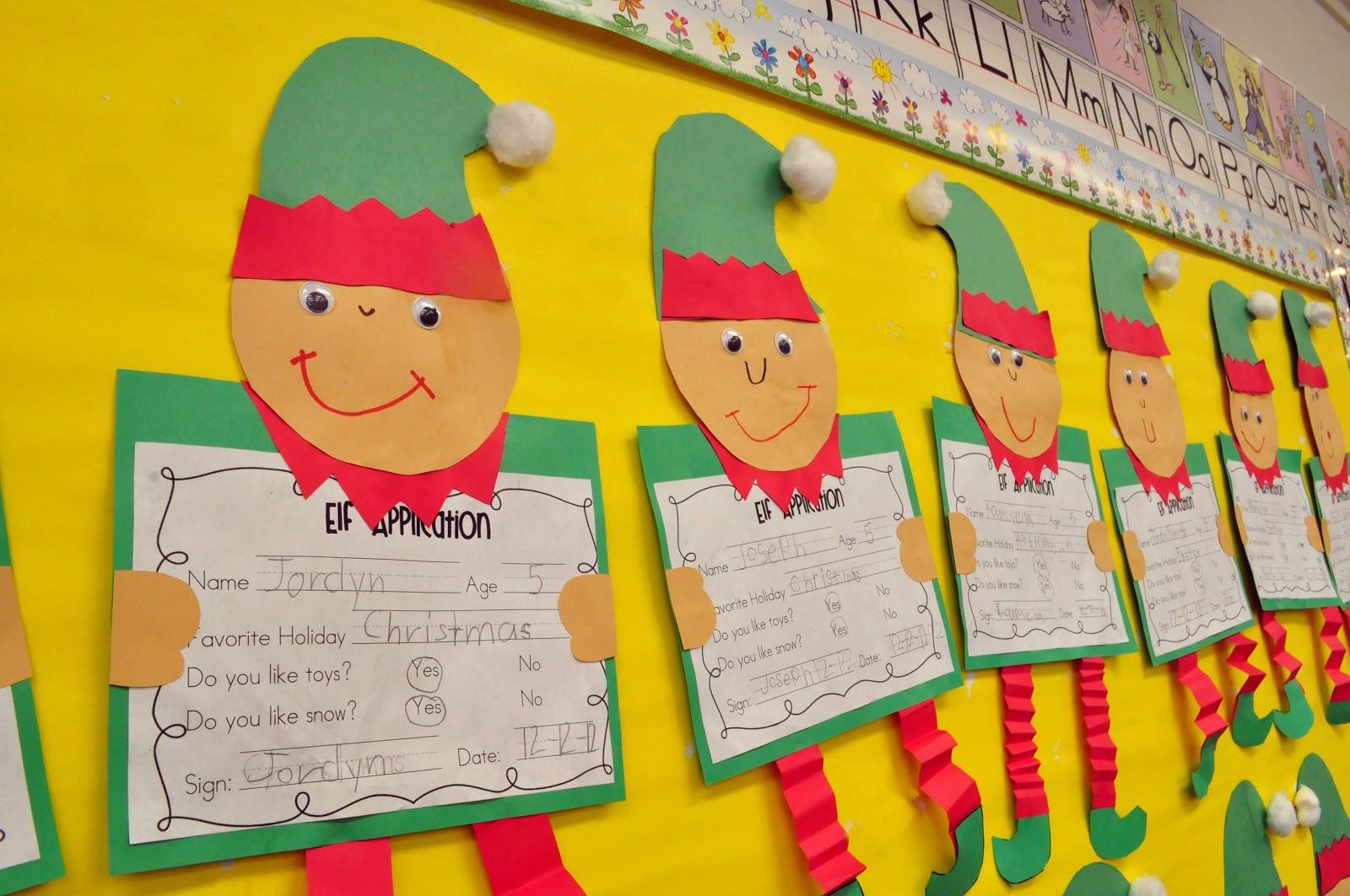 Kindergarten Christmas Crafts.Mrs Ricca S Kindergarten Christmas Crafts Freebies
