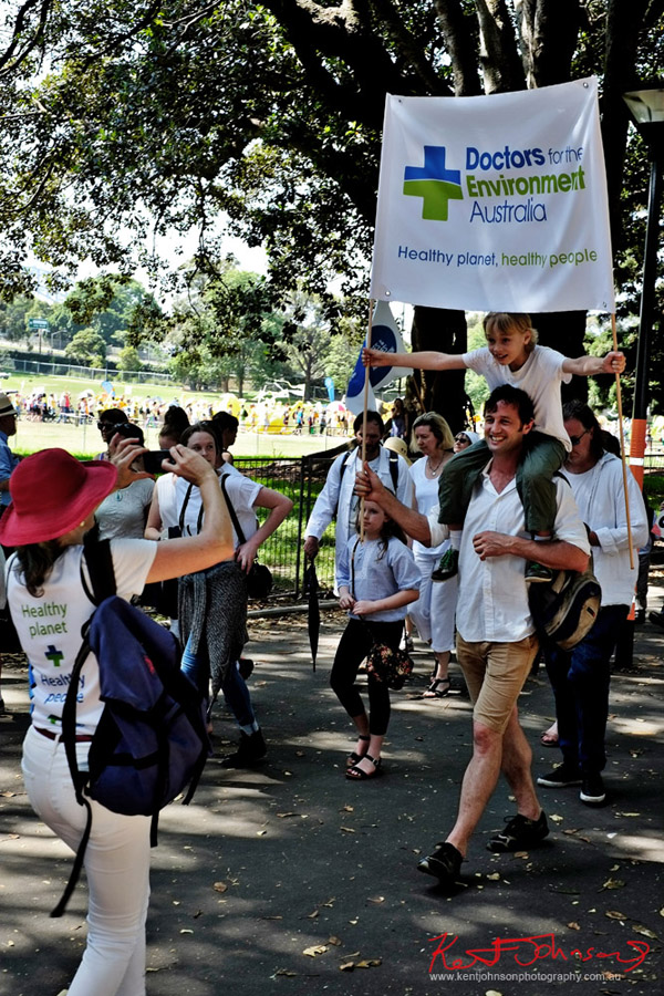 Doctors for the Environment - Sydney, Climate Change March, The Domain, Macquarie Street, Climate Change, Protest, #NoPlanetNoFuture, #PeoplesClimate, #PeoplesClimateMarch, #Sydney,
