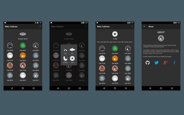 Android Nougat: Easter Egg