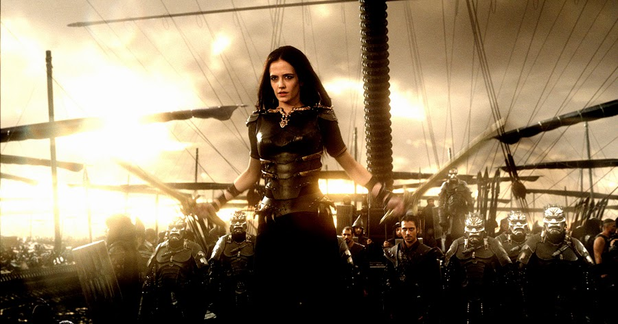 Eva Green este Artemisia în 300: Rise Of An Empire