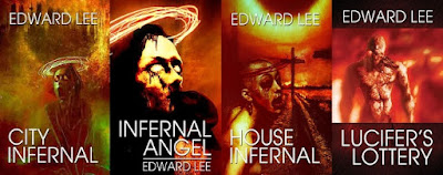 City Infernal Series Book Covers