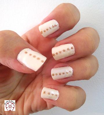 manicura blanca