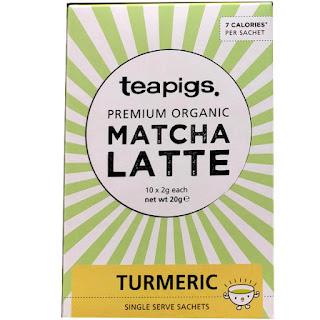 Teapigs Organic Matcha Latte turmeric